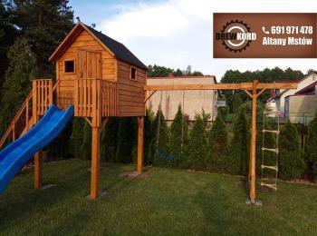 drewniane domki dla dzieci 2