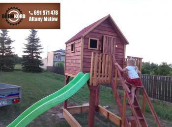 drewniane domki dla dzieci 3