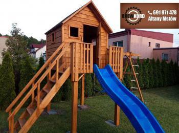 drewniane domki dla dzieci 4