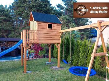 drewniane domki dla dzieci 6
