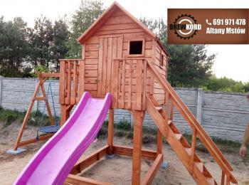 drewniane domki dla dzieci 7