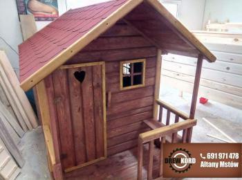 drewniane domki dla dzieci 8