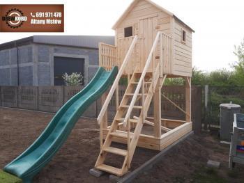 drewniane domki dla dzieci 9